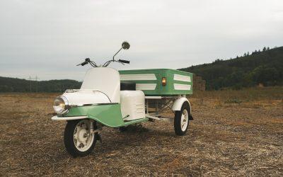 Renovace ČZ 505 Rikša