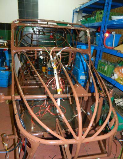 Natahování elektroinstalace