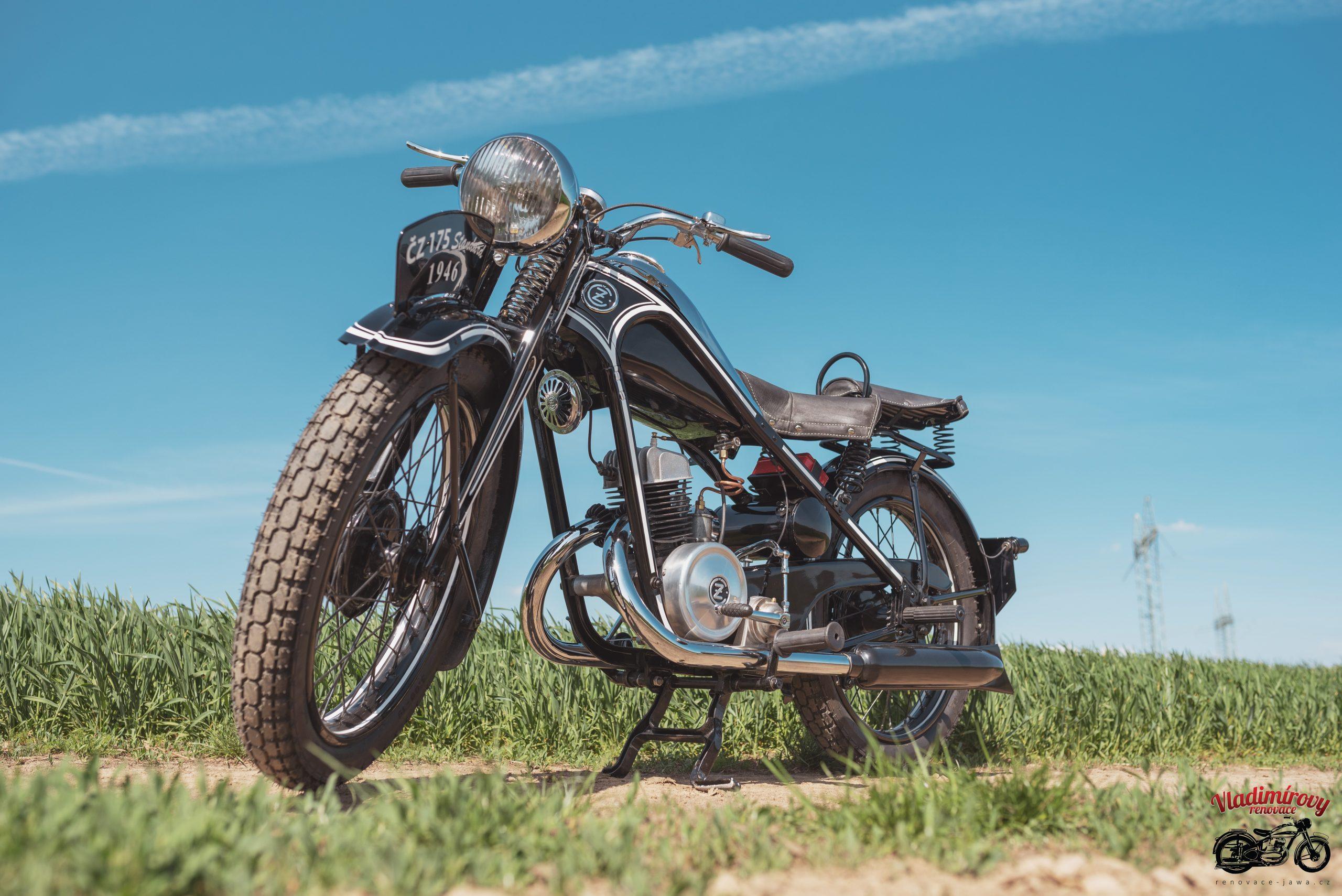 Renovace ČZ 175 Standard 1946